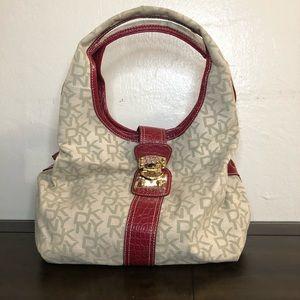DKNY Leather Strap Bag